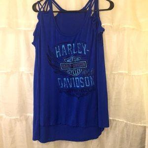 Women's Harley-Davidson shirt
